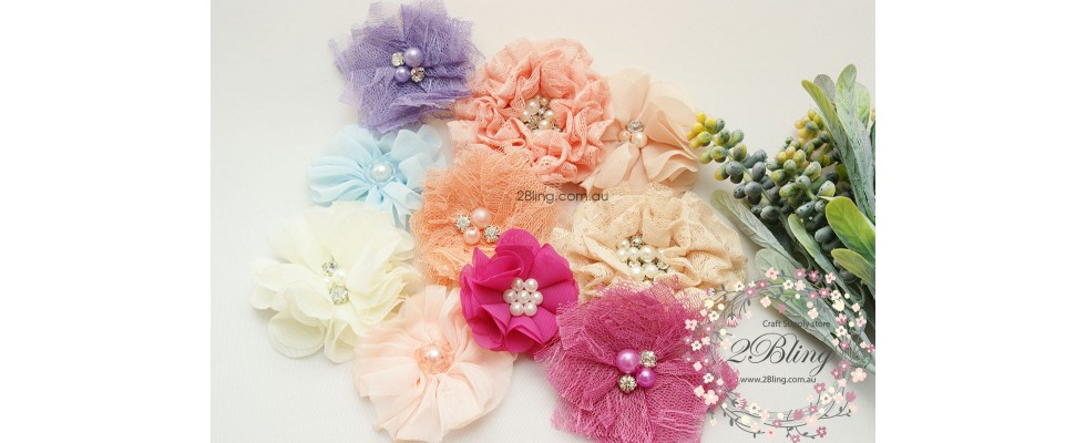 fabric flower australia