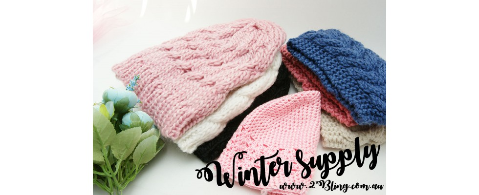winter baby beanie supply