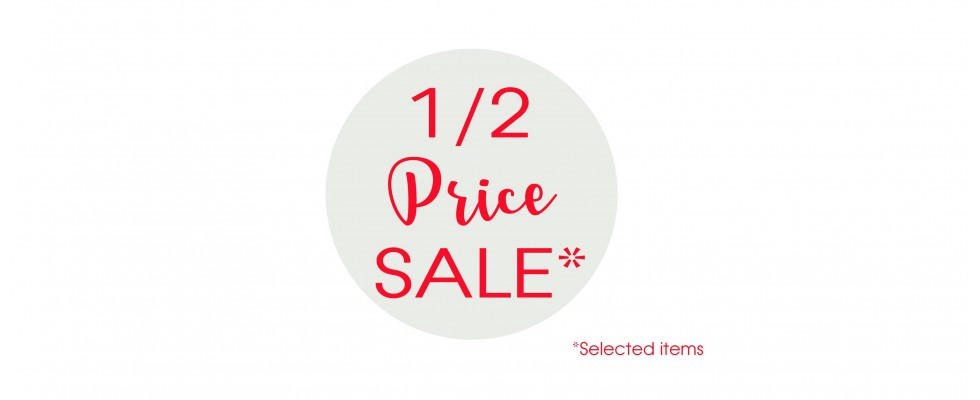 half price sale embellishment supply