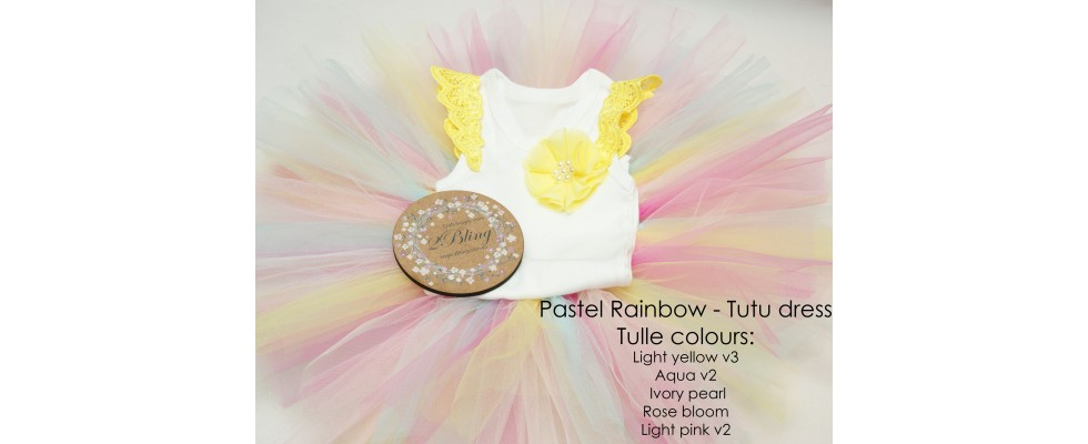 DIY tutu dress supplies tulle australia