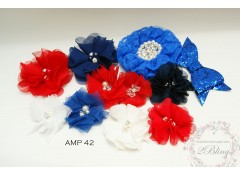 Mix Assorted pack (AMP 42), Red & Blue