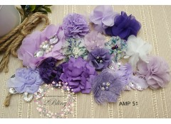 Mix Assorted pack (AMP 51), Lavender, Purple