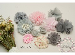 Mix Assorted pack (AMP #65) Pink Grey
