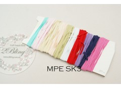 Mix Pack Elastic (MPE SK3) 23.5 meters, Skinny elastic 4mm