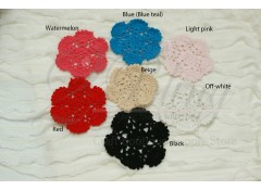 Doilies (9B), 9 cm, Pack of 2
