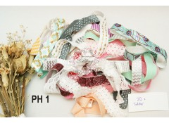 Premade Headband, Mix assorted, Toddler, Pack of 20, PH1