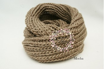 "Neck Warmer ""Knitted Wool"" , Ladies, WIDE"