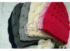 Knitted Woolen Beanie (One size)