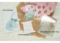 Packaging, SELF-ADHESIVE BAGS (Small) - 13.5x10 cm- Pack of 25