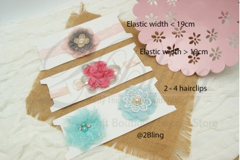 Packaging, Hair-clips/ Headbands Display CARDS (Large) - 21x8.5cm - Pack of 25