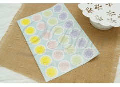"Stickers, Doilies ""Present for you"" (3 sheets/ 72 individual stickers)"