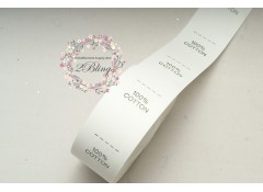 Label Tag, 100% Cotton, Pack of 50