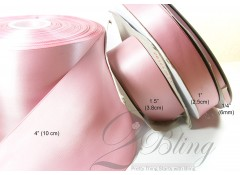 4 inch  (100mm) Double Sided Satin Ribbon - 2m Length